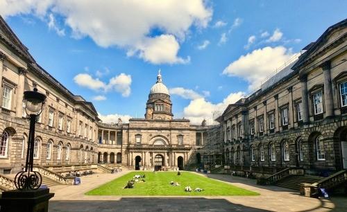 Studying at the University of Edinburgh, Scotland