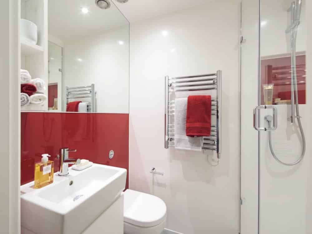 bathroom types, student room types