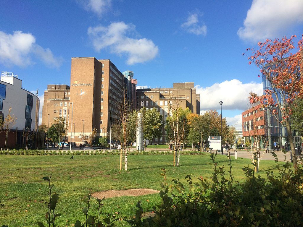 Aston University, best unis in birmingham