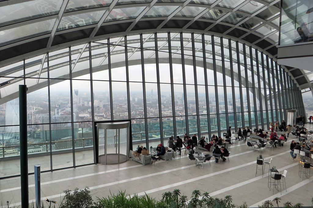 Sky Pod Bar , rooftop bars in London