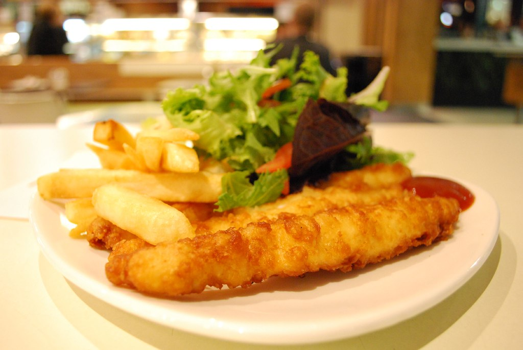 Fish and Chips in London,