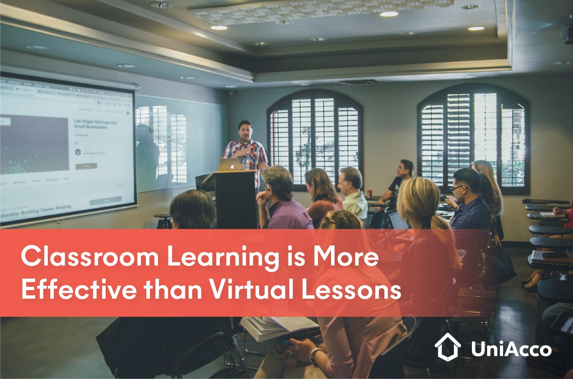 Classroom Learning is More Effective than Virtual Lessons