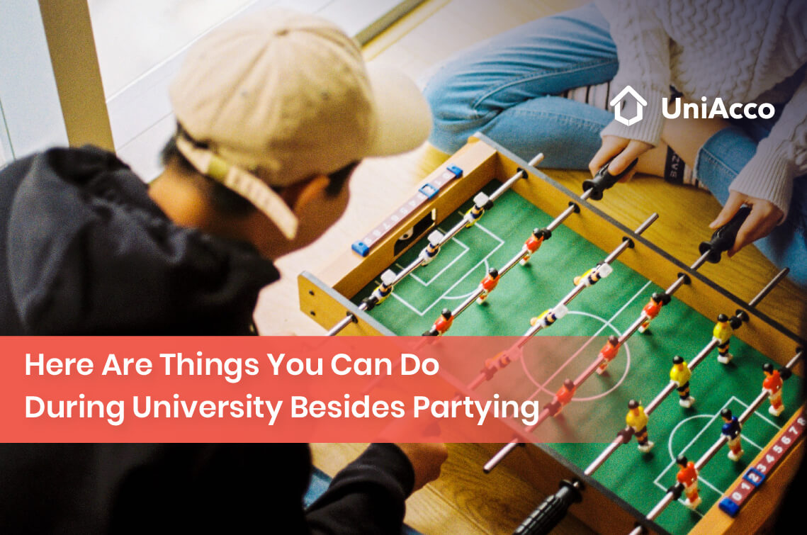 Here Are Things You Can Do During University Besides Partying