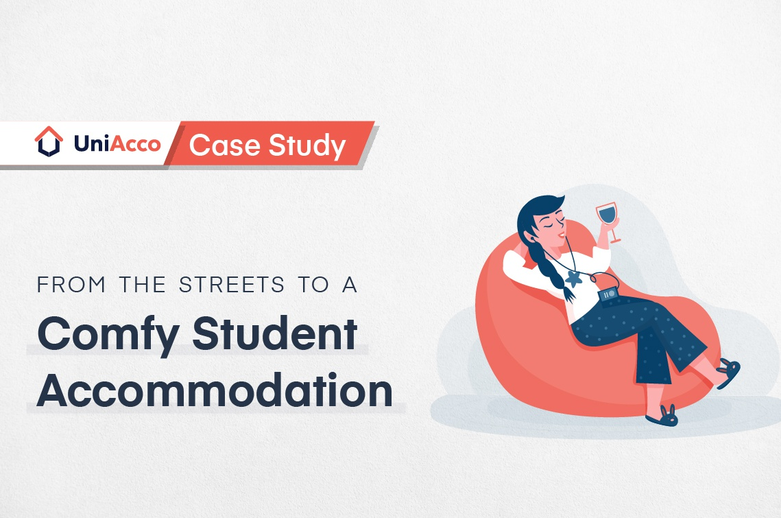 Case Study – From The Streets To A Comfy Student Accommodation